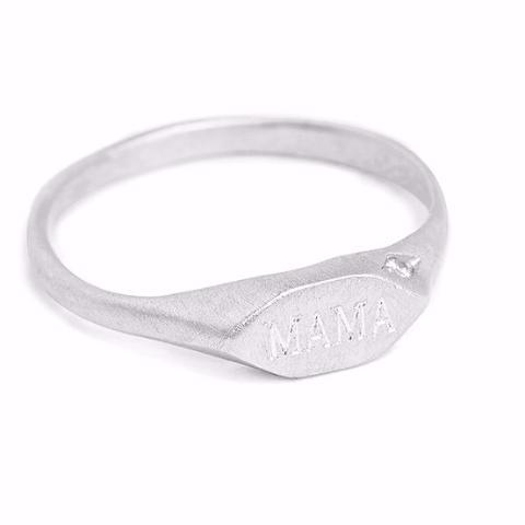 Custom Silver Signet Ring