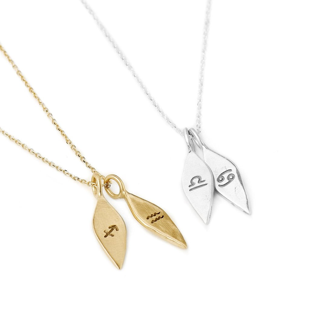 Zodiac Necklace 14kt