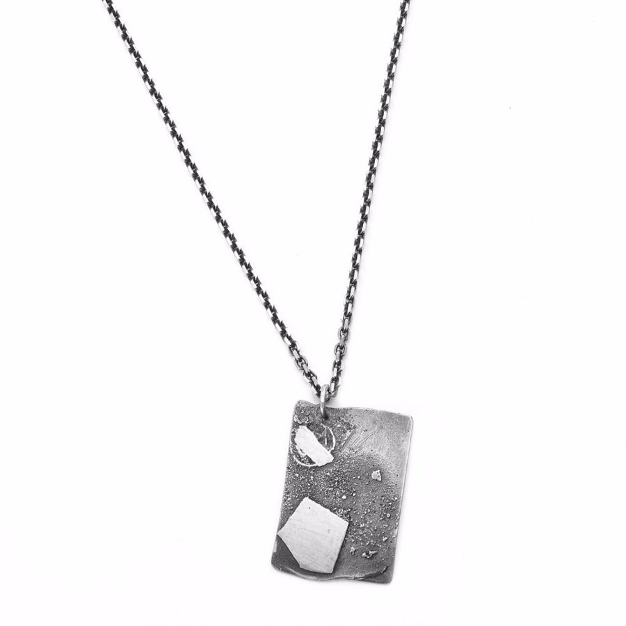Cole Fused Dog Tag Necklace