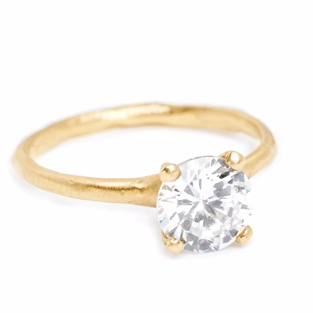 vintage mid cut band yellow home full wedding diamond diamonds product century gold in