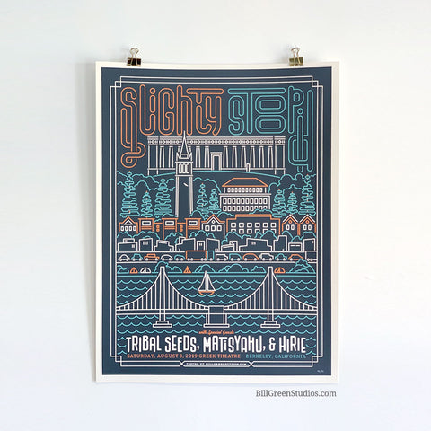 Slightly Stoopid - Berkeley 2019 Poster