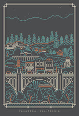 City of Pasadena Art Print