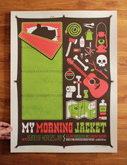 My Morning Jacket / Band of Horses Poster