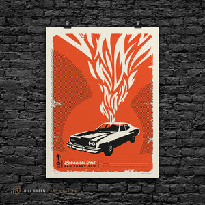 2013 Lebowski Fest San Francisco Screen Print