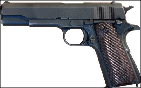 The Colt 1911 Handgun - Then And Now