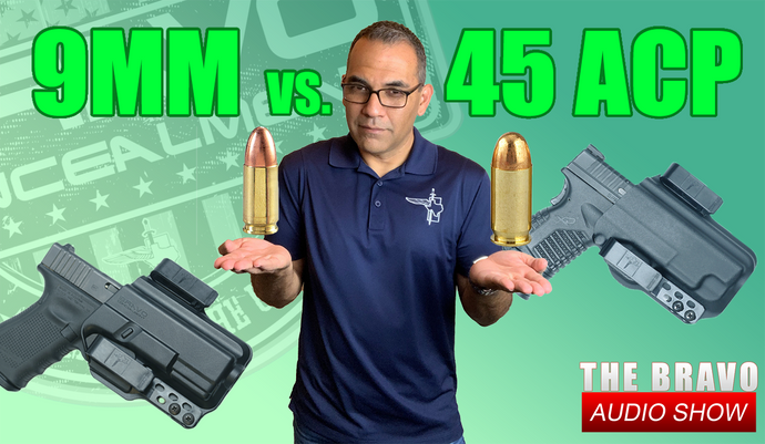9mm vs 40 cal vs 45 ACP - What's Best For Concealed Carry?