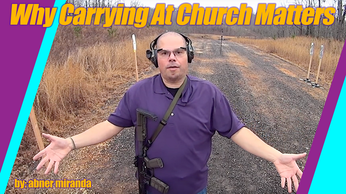 Why Concealed Carry At Church Matters