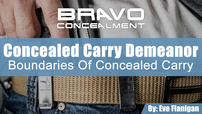 Concealed Carry Demeanor