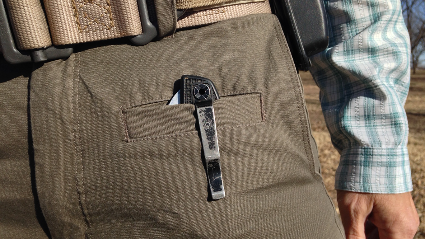 Everyday Concealed Carry Pocket Knife