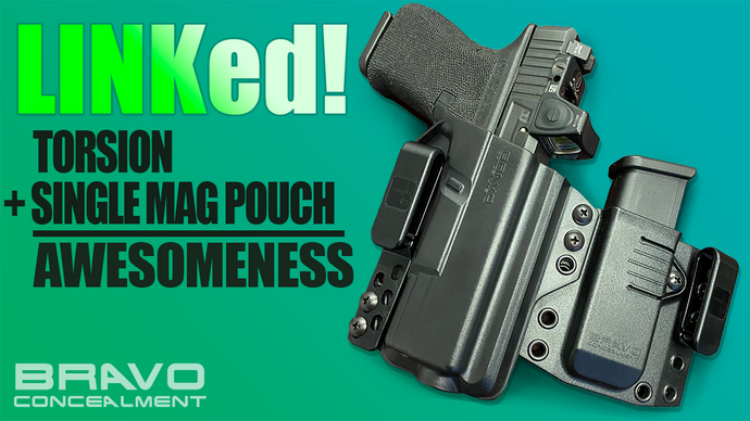LINKed! Gun Holster And Single Mag Pouch!