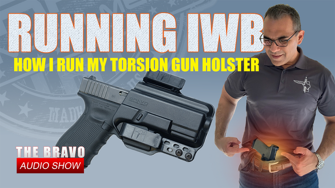 How I Run My Concealed Carry Torsion IWB Gun Holster