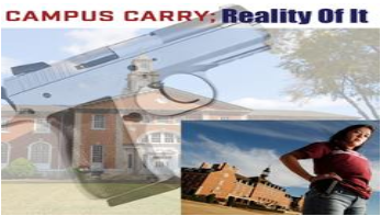 Campus Carry: Reality of it