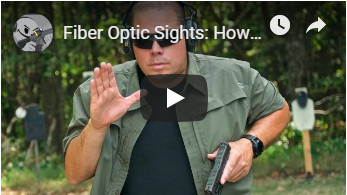 Fiber Optic Sights: How Tough Are They?