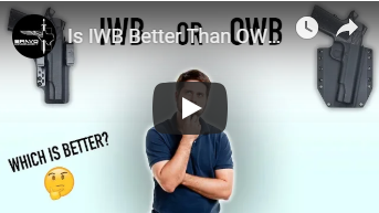 IWB or OWB, Which Is Better For Concealed Carry?