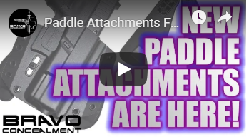 Paddle Attachments Making Concealed Carry So Much Easier!