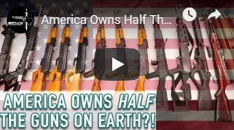 America Owns Half The Guns on Earth!?!