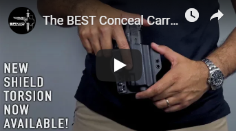 The BEST Conceal Carry Holster - New Shield Torsion Gun Holster