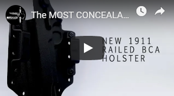 The MOST CONCEALABLE 1911 Holster Ever!