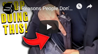 3 Reasons People Don't Conceal Carry