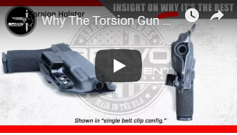 Why The Torsion Gun Holster Is The Best IWB Concealed Carry Holster