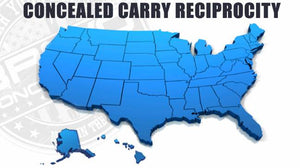 Concealed Carry Reciprocity Map In The United States