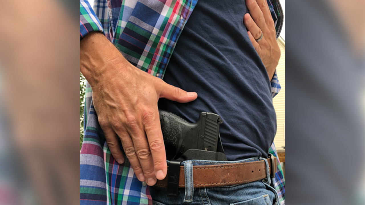 The Height of Inside the Waistband Carry