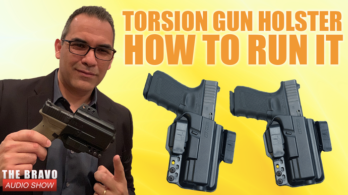 Concealed Carry & How To Run The Torsion Gun Holster