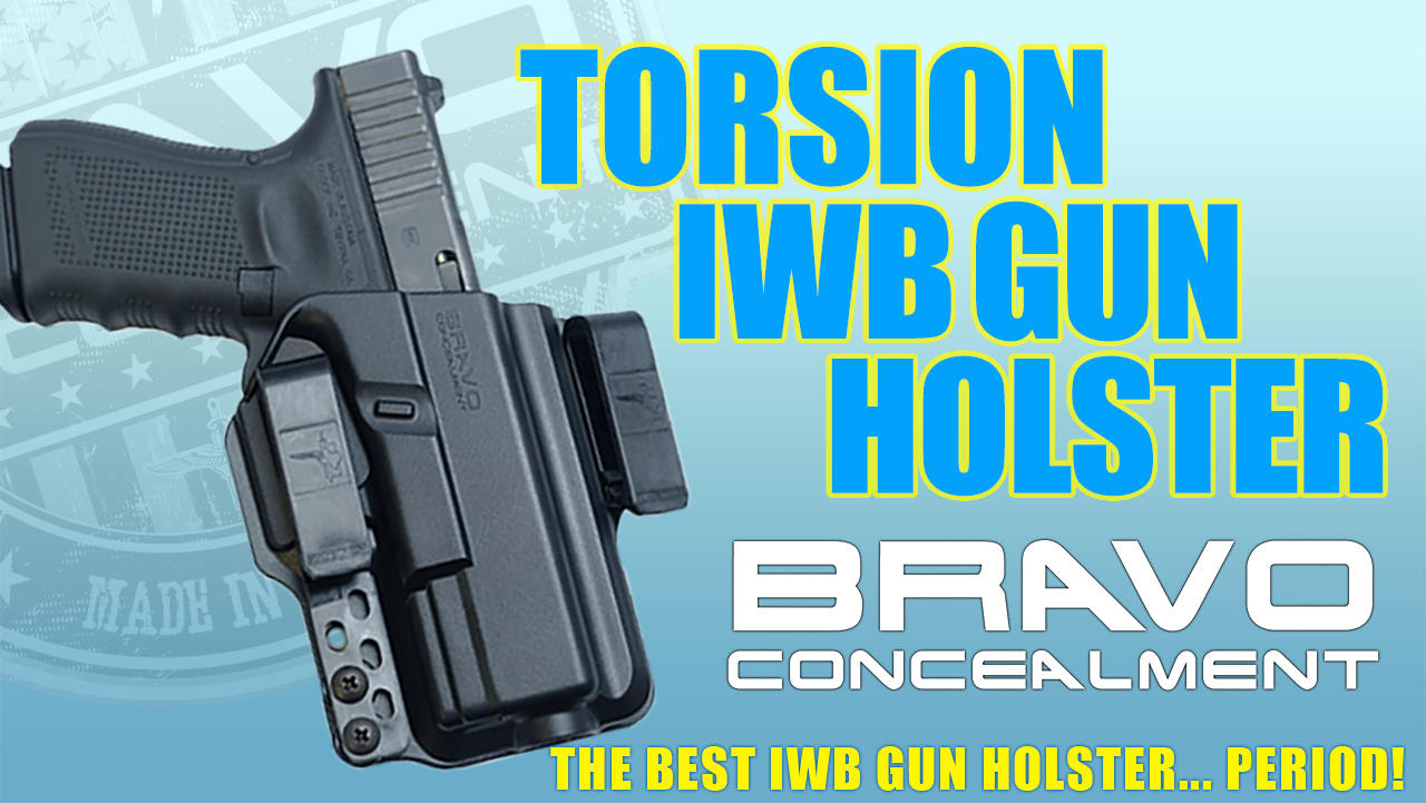 Torsion IWB Gun Holsters by Bravo Concealment