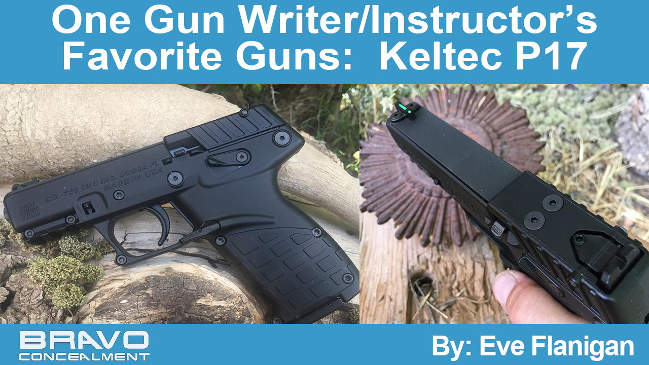 One Gun Writer/Instructor's Favorite Guns:  Keltec P17