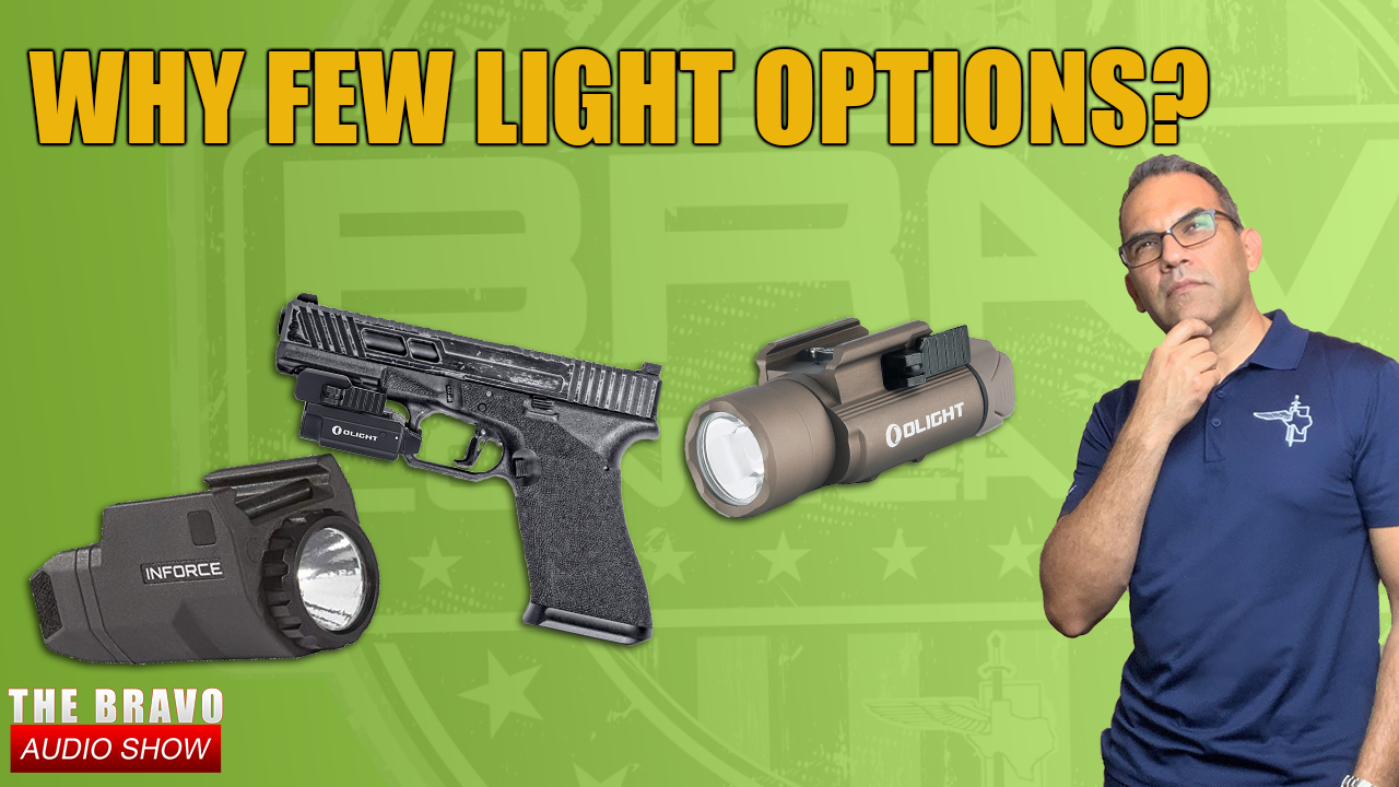 Why We Have Few Light Options