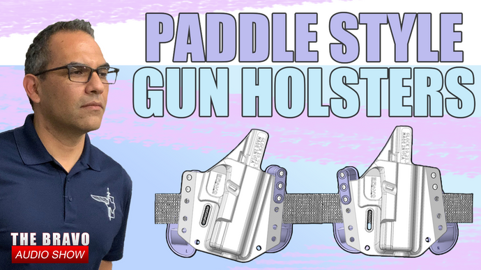 Paddle Style Gun Holsters