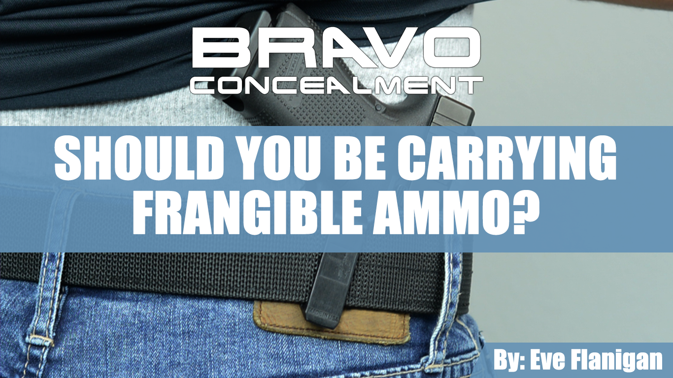 Should you be carrying frangible for EDC?