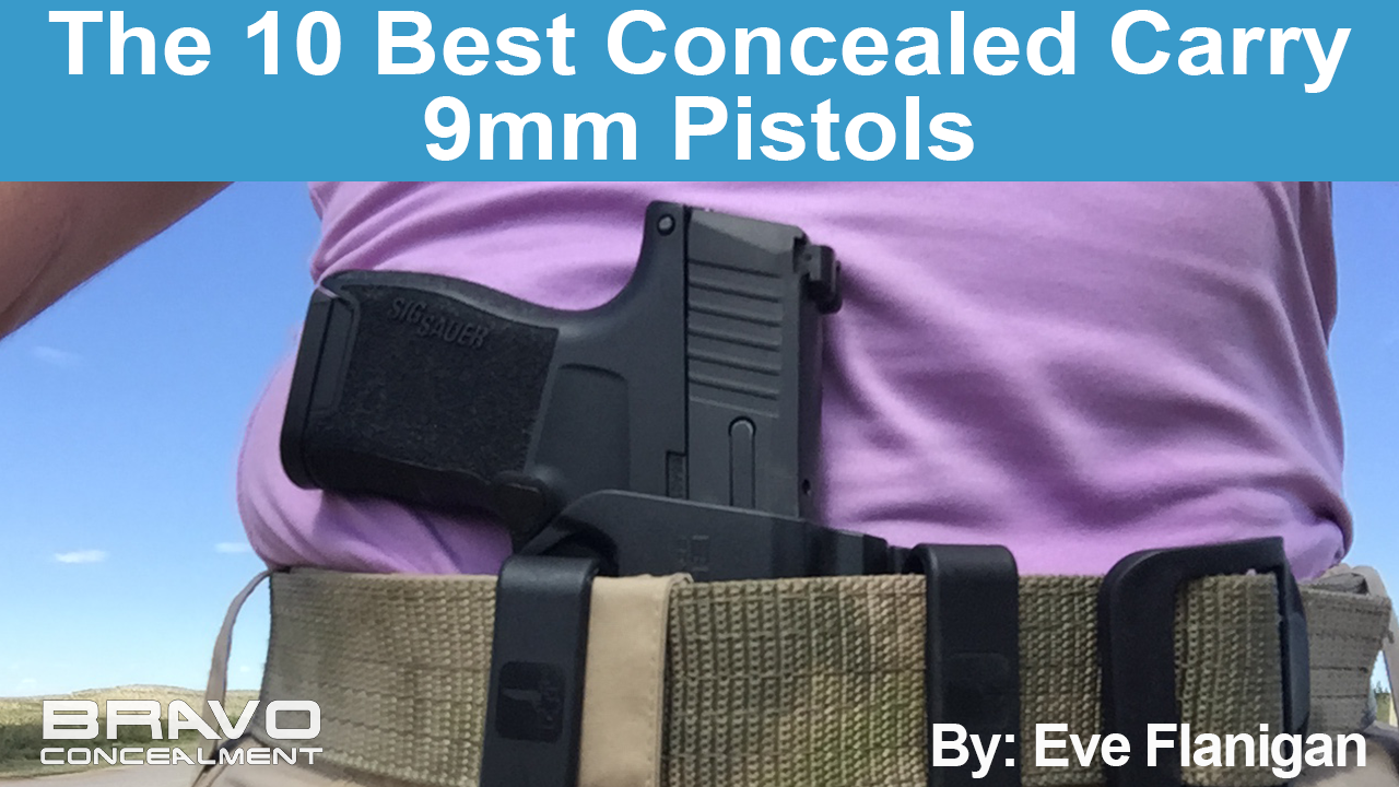 10 Best Concealed Carry 9mm Pistols