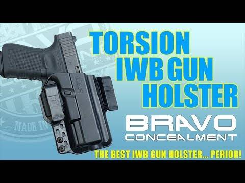 The BEST IWB Holster For Concealed Carry – Bravo Concealment