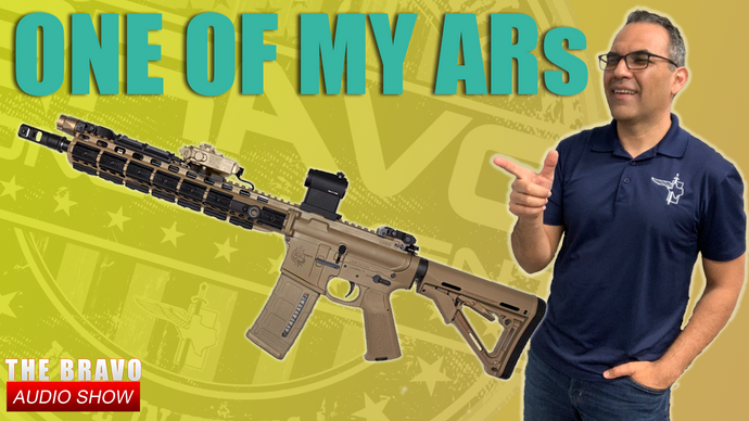 "One Of The Semi-Auto, ""Assault Weapon"" AR-15s I Run"