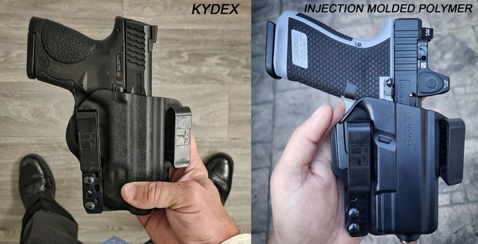 Kydex Holsters vs. Injection Molded Polymer Holsters