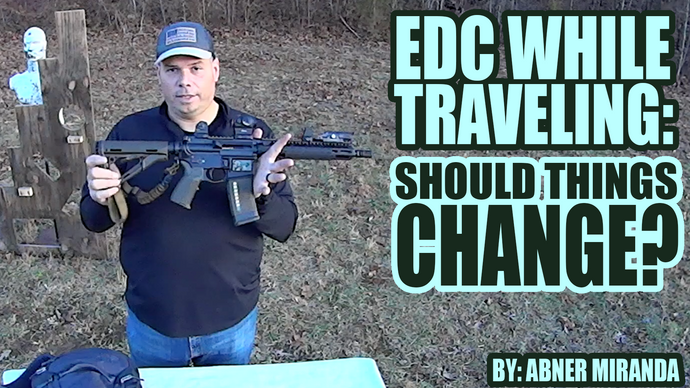 EDC While Traveling: Should Things Change?