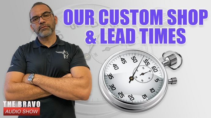 Our Custom Shop - Lead Times