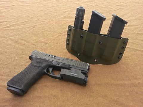 Bravo Concealment SNS-UCR and Glock with Inforce APL