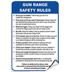 gun range safety rules