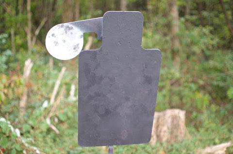 Steel Target with Swivel
