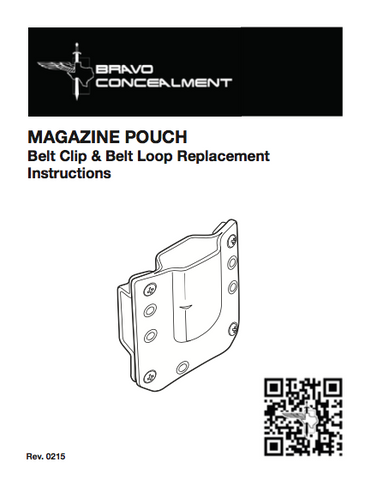 bravo concealment magazine manual preview