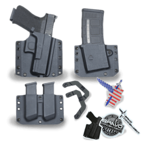 The Best OWB and IWB Concealed Carry Kydex Holster for your