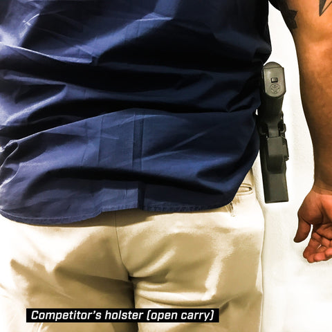 Competitor's open carry holster