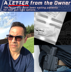A Letter From The Owner of Bravo Concealment