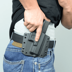 BCA Light Bearing OWB Kydex Gun Holster - Bravo Concealment