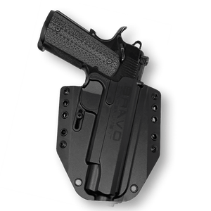 "1911 Remington R1 5"" (non-rail) OWB Gun Holster"