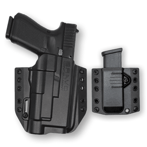BCA Light Bearing OWB Gun Holster Combo