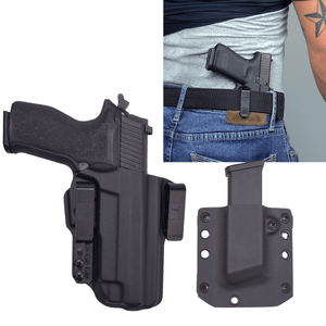 Sig Sauer P226 Legion 9mm Torsion IWB Kydex Gun Holster Combo