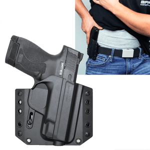S&W Shield 40 OWB Gun Holster - Bravo Concealment